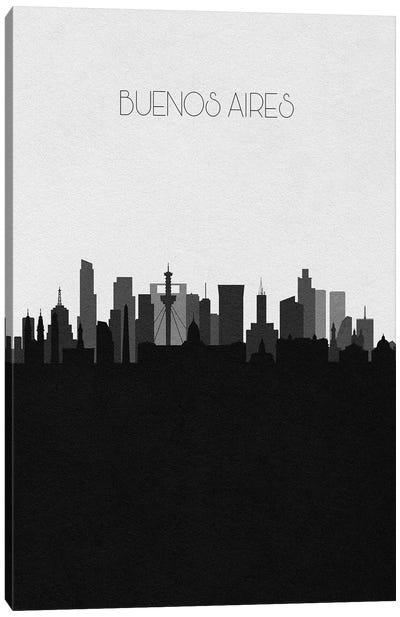 Buenos Aires, Argentina City Skyline Canvas Art Print