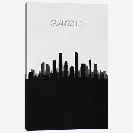 Guangzhou, China City Skyline Canvas Print #ADA451} by Ayse Deniz Akerman Canvas Artwork