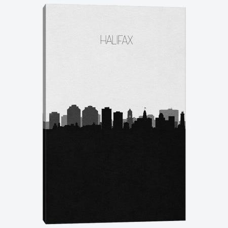 Halifax, Canada City Skyline Canvas Print #ADA452} by Ayse Deniz Akerman Canvas Wall Art