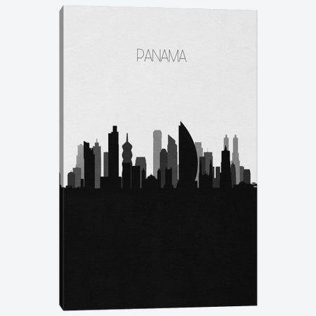 Panama City Skyline Canvas Print #ADA470} by Ayse Deniz Akerman Canvas Art