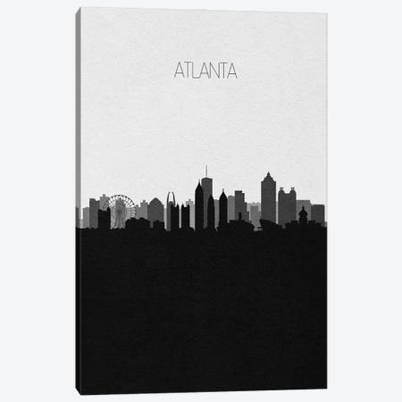 Atlanta Skyline Canvas Print #ADA486} by Ayse Deniz Akerman Canvas Artwork