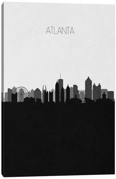 Atlanta Skyline Canvas Art Print