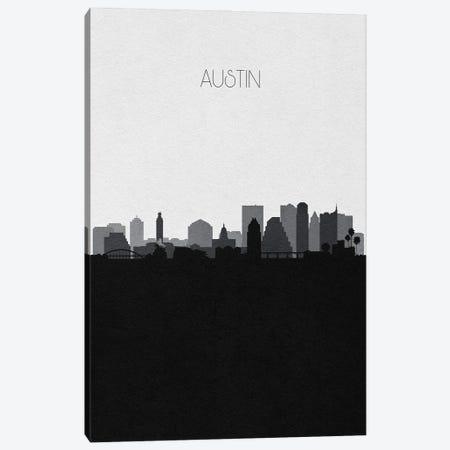 Austin Skyline Canvas Print #ADA487} by Ayse Deniz Akerman Canvas Art