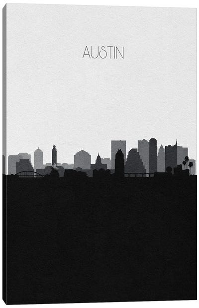 Austin Skyline Canvas Art Print