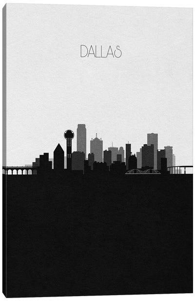 Dallas Skyline Canvas Art Print