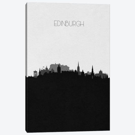 Edinburgh, Scotland City Skyline Canvas Print #ADA495} by Ayse Deniz Akerman Art Print