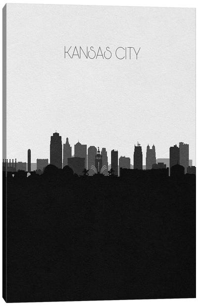 Kansas City Skyline Canvas Art Print