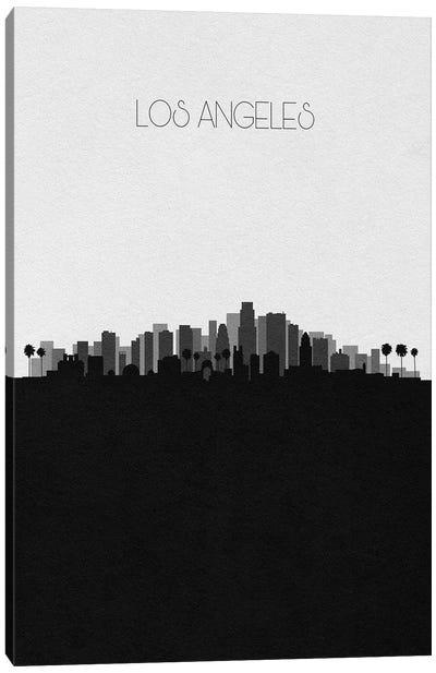 Los Angeles Skyline Canvas Art Print