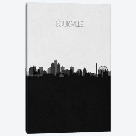 Louisville Skyline Canvas Print #ADA501} by Ayse Deniz Akerman Canvas Artwork