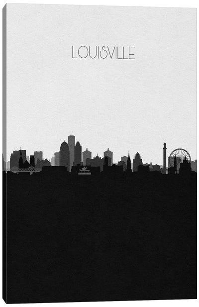 Louisville Skyline Canvas Art Print