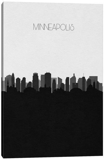 Minneapolis Skyline Canvas Art Print