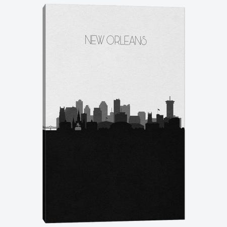 New Orleans Skyline Canvas Print #ADA506} by Ayse Deniz Akerman Canvas Art Print