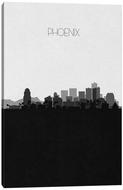 Phoenix Skyline Canvas Art Print