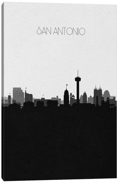 San Antonio Skyline Canvas Art Print