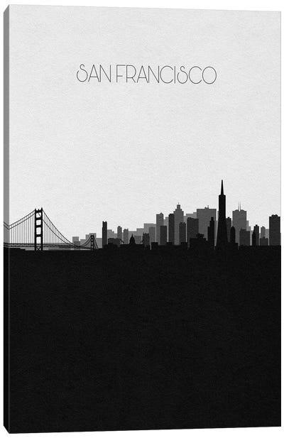 San Francisco Skyline Canvas Art Print