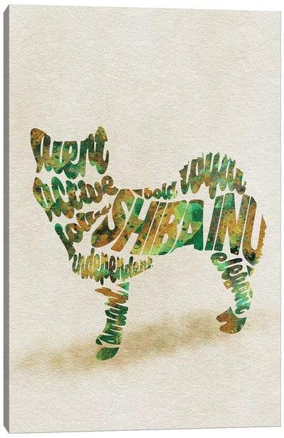 Shiba Inu Canvas Art Print