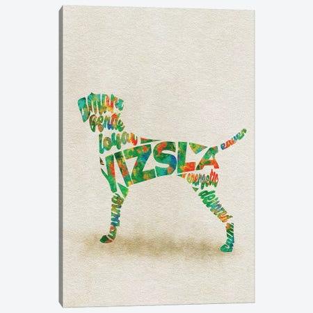 Vizsla Canvas Print #ADA55} by Ayse Deniz Akerman Canvas Print