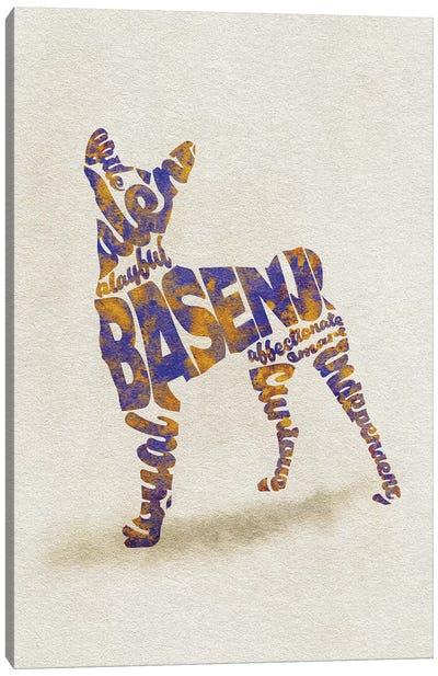 Basenji Canvas Art Print