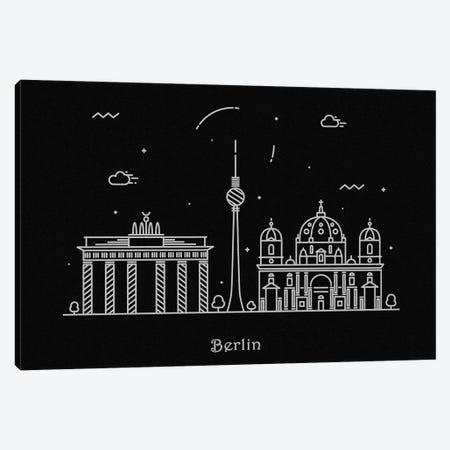 Berlin Canvas Print #ADA65} by Ayse Deniz Akerman Canvas Art