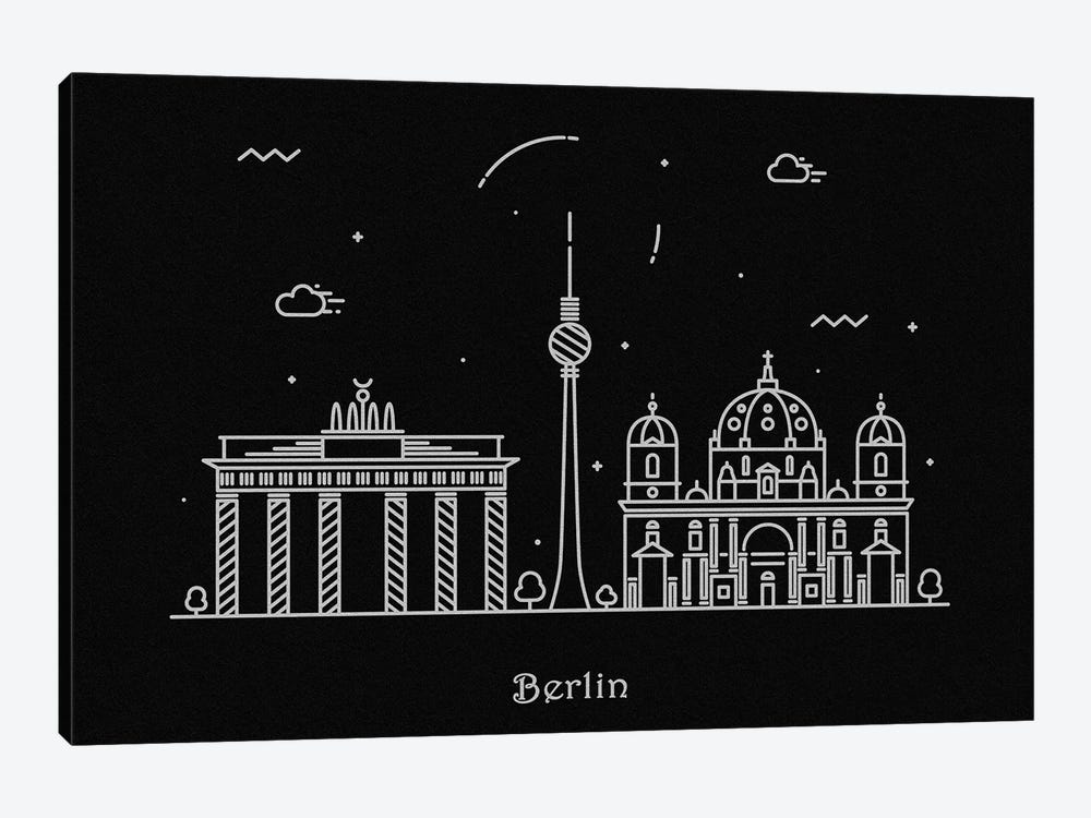 Berlin by Ayse Deniz Akerman 1-piece Canvas Artwork