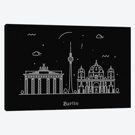Berlin Canvas Print #ADA65} by Ayse Deniz Akerman Canvas Art