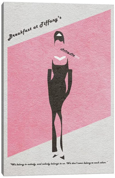 Breakfast At Tiffany's Canvas Art Print