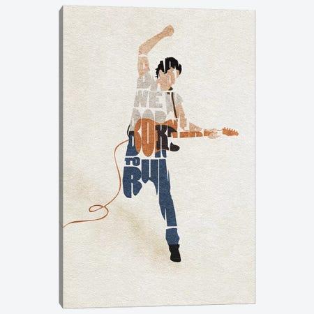 Bruce Springsteen Canvas Print #ADA69} by Ayse Deniz Akerman Art Print