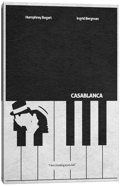 Casablanca Canvas Art Print