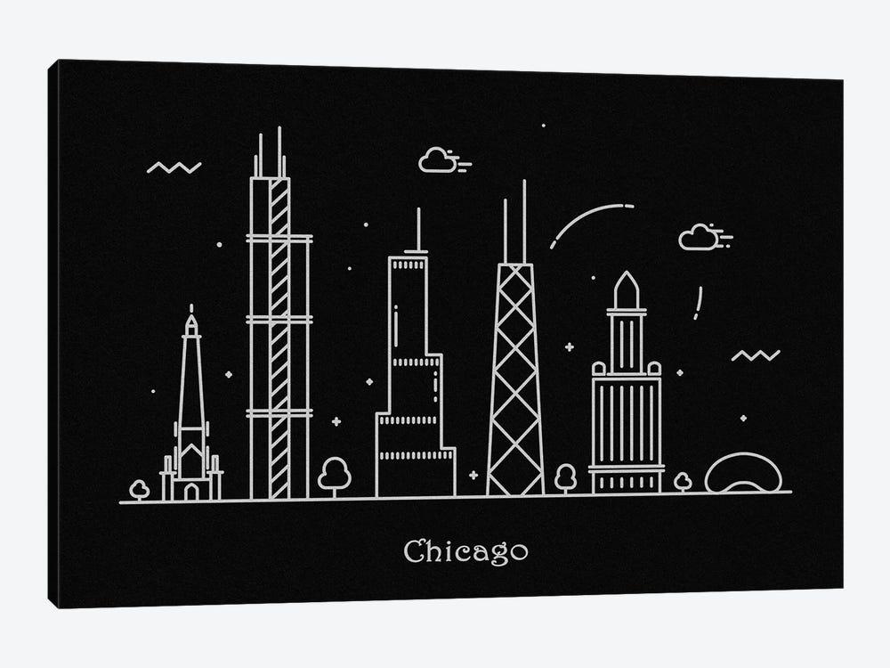Chicago by Ayse Deniz Akerman 1-piece Canvas Print