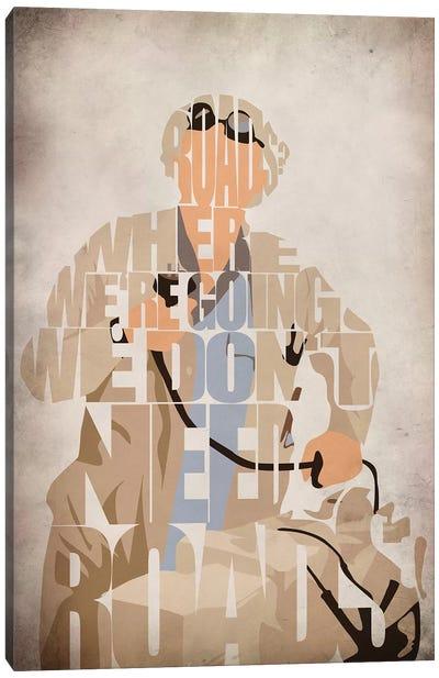 Doc Brown Canvas Art Print