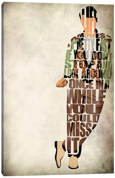 Ferris Bueller Canvas Art Print