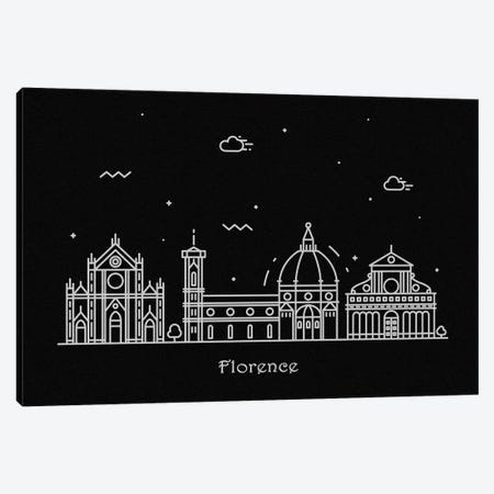 Florence Canvas Print #ADA80} by Ayse Deniz Akerman Art Print