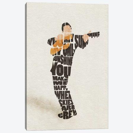 Johnny Cash Canvas Print #ADA85} by Ayse Deniz Akerman Canvas Art