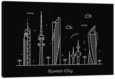 Kuwait Canvas Art Print