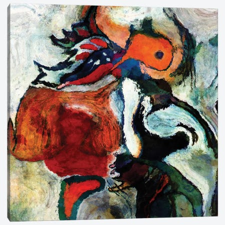 Last Birds Take Off Canvas Print #ADA88} by Ayse Deniz Akerman Canvas Art Print