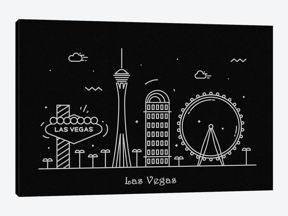 Las Vegas by Ayse Deniz Akerman 1-piece Canvas Artwork