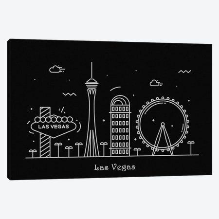 Las Vegas Canvas Print #ADA89} by Ayse Deniz Akerman Art Print