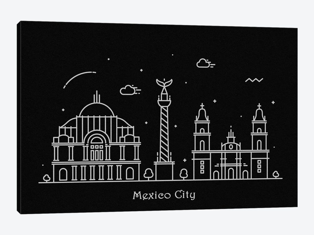 Mexico by Ayse Deniz Akerman 1-piece Canvas Print
