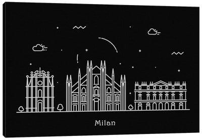 Milan Canvas Art Print