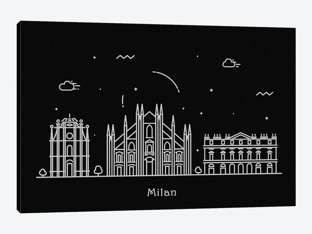 Milan by Ayse Deniz Akerman 1-piece Canvas Art