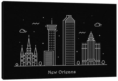 New Orleans Canvas Art Print