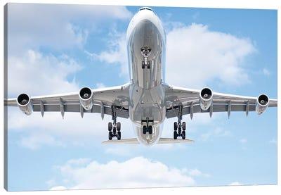 Aviation Lufthansa A340 Canvas Art Print