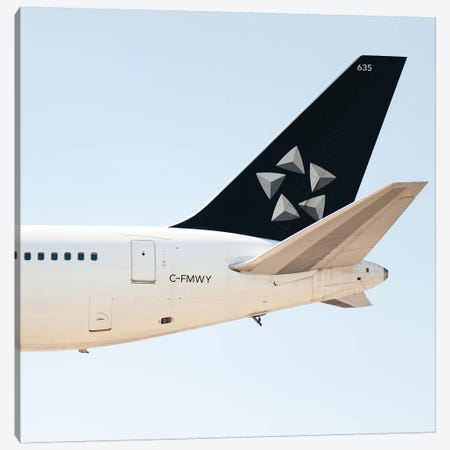 Aviation Star Alliance A330 Tail Canvas Print #ADB11} by Addis Brown Art Print