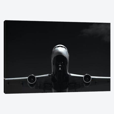 Black And Silver Study 767 Approach Canvas Print #ADB12} by Addis Brown Art Print
