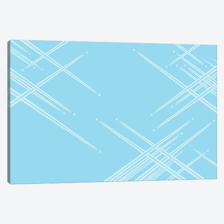 Intersections Canvas Print #ADB23} by Addis Brown Canvas Artwork
