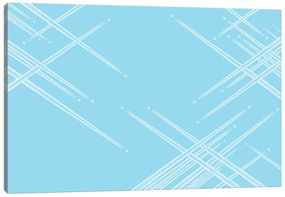 Intersections Canvas Art Print