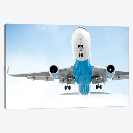 Aviation Austrian 767 Canvas Print #ADB4} by Addis Brown Canvas Art Print