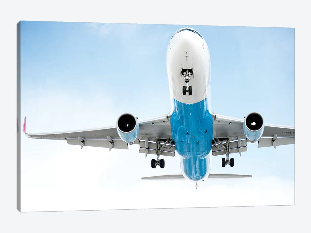 Aviation Austrian 767 by Addis Brown 1-piece Canvas Wall Art
