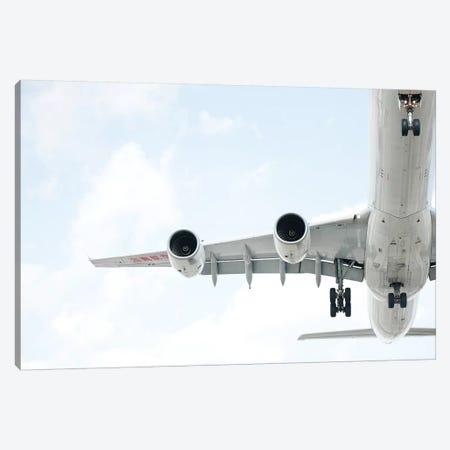 Aviation Hainan A340 3-Piece Canvas #ADB7} by Addis Brown Canvas Print