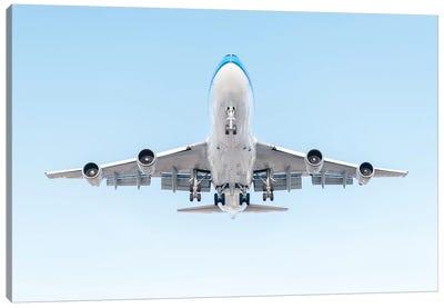 Aviation Klm 747 Canvas Art Print